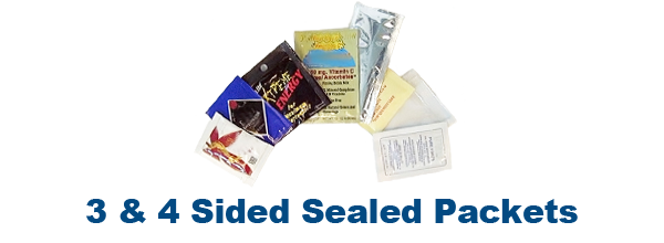 3 & 4 Sided Sealed Packets